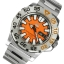 นาฬิกา หน้าส้ม Seiko Mini Monster Orange snzf49 thumbnail 3