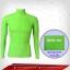 เสื้อรัดกล้ามเนื้อ รุ่นQuick Dry มีรูระบายอากาศ สีเขียวใบตองสินค้าหมดชั่วคราว thumbnail 1