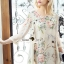 Seoul Secret Say's... Vintage Blossom Color Dress thumbnail 1