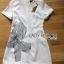 Lady Ribbon's Made Lady Carrie Smart Minimal Ribbon Embroidered White Dress thumbnail 5