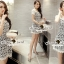 Seoul Secret Say's... Girly See-Through Netty Princess Lace Dress thumbnail 6