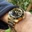 นาฬิกา Seiko Automatic Sports Mens Diver Watch Gold SNZH60K1 thumbnail 4