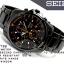 Seiko Chronograph SNDD Black (สาย Stainlss) SNDD65P สายรมดำ thumbnail 3