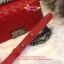 Chanel Boy สีแดง 8 นิ้ว thumbnail 6