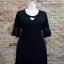 ชุดดำพร้อมส่ง สำหรับสาวอวบ++36-43 นิ้ว T5104 Sale thumbnail 5