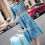 Seoul Secret Say's... Chic Denim Layer Maxi Dress thumbnail 3