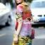 Seoul Secret Say's... Fairly Lanla Color Dress สีชมพู thumbnail 4