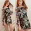 Lady Ribbon's Made Lady Daria Beachy Blossom Print Chiffon Mini Dress thumbnail 1