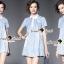 Seoul Secret Say's... Shiny Annly Deim Dress thumbnail 6