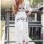 Lady Ribbon's Made Lady Florence Boho Chic Floral Printed Maxi Dress thumbnail 3