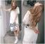 Lady Ribbon's Made Lady Amanda Classic White Bold Lace Dress thumbnail 4