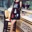 Cliona made' Happy Family Garden Party Dress สีดำ thumbnail 2