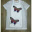 Sweet Bunny Present... Embroidered Butterfly Dress สีขาว thumbnail 4