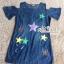 Dress jeans print stars dress Korea by Aris Code thumbnail 6