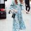 Cliona Made' Provence Floral Line Long Dress thumbnail 4