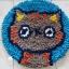 พรมแฟนซี ลาย Lovely cat thumbnail 6