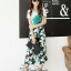 Sweet Bunny Present... Shoe flower wide trousers set with belt thumbnail 6