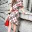 Seoul Secret Say's... Burberry Red Ribbon Dress thumbnail 4
