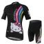 **สินค้าพรีออเดอร์**ชุดปั่นจักรยาน ผู้หญิง Kitty สีดำ (เสื้อ+กางเกงขาสั้น) thumbnail 1