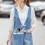 Seoul Secret Say's .... Roppy Pinstripe Denim Shirt Dress thumbnail 3
