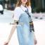 Seoul Secret Say's... Nifty Denim Shirt Dress Scraffy thumbnail 2