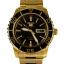 นาฬิกา Seiko Automatic Sports Mens Diver Watch Gold SNZH60K1 thumbnail 1