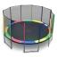 แทรมโพลีน 16 ฟุต สีรุ้ง สปริงบอร์ด trampoline ขนาดใหญ่สุด เหมาะสำหรับออกงาน thumbnail 1