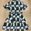 Cliona made' Grammy Square Line Shirt Dress thumbnail 7
