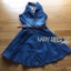 Lady Ribbon's Made Lady Jane Smart Sexy Sleeveless Denim Shirt Dress thumbnail 5