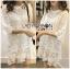 Lady Ribbon's Made Lady Delphina Classic Minimal Guipure Lace Dress สีขาว thumbnail 3