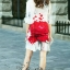 Sweet Bunny Present... Embroidered Rose Print Dress thumbnail 5