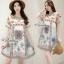 Sweet Bunny Present... Organdy Print Dress thumbnail 6