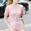 Seoul Secret Say's... Pastel Pink Circlely Lace Stylish Set thumbnail 3