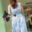 Seoul Secret Say's... Sweety Soft Blue Denim Dress thumbnail 5