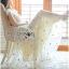 Lady Ribbon's Made Lady Lara Mini Flower Embroidered Tulle Evening Dress thumbnail 4