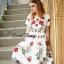 Petite rose print dress by Sweet Bunny thumbnail 3