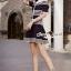 Seoul Secret Say's... Chic Stripy Knitty Dress thumbnail 6