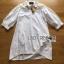 Lady Ribbon's Made Lady Serena Feminine Basic Cotton and Lace Shirt Dress thumbnail 5