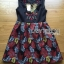 Lady Ribbon's Made Lady Modern Hippie Floral Embroidered and Printed Dress thumbnail 5
