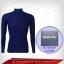 เสื้อรัดกล้ามเนื้อ รุ่นQuick Dry มีรูระบายอากาศ สี น้ำเงิน สินค้าหมดชั่วคราว thumbnail 1