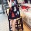 Cliona made' Happy Family Garden Party Dress สีดำ thumbnail 3