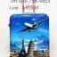 กระเป๋าเดินทาง Polycarbonate ลายเครื่องบินไซส์ 24 นิ้ว thumbnail 1