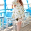 Seoul Secret Say's... Chic Yellow Blossom Sweety Dress thumbnail 3