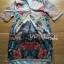 Lady Ribbon's Made Lady Kate Flower Blooming Printed Satin Dress thumbnail 5