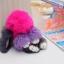 พวงกุญแจห้อยกระเป๋า ตุ๊กตากระต่ายหูยาว น่ารักๆๆ ขนกระต่ายแท้ นุ่มมากๆ thumbnail 8