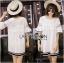 Lady Ribbon's Made Lady Koko Summery Navy Striped Lace and Polyester Dress thumbnail 4
