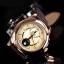 นาฬิกา CITIZEN Eco - Drive Moon Phase Sapphire Rose Gold สายหนัง BU0003-13P thumbnail 4