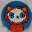 พรมแฟนซี ลาย Lovely cat thumbnail 3