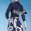 "Vivivaa recommend ""Bluely flora skirt denim dress"" thumbnail 3"