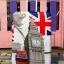 กระเป๋าเดินทางลายธงชาติอังกฤษ และหอนาฬิกา ขนาด 28 นิ้ว thumbnail 1